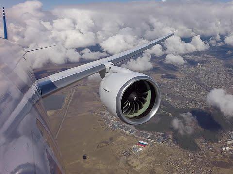 Испытательный полет МС-21 20 апреля 2020 года