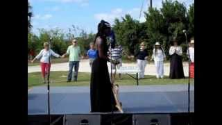 Queen Quet Leads Middle Passage Ceremony Libation