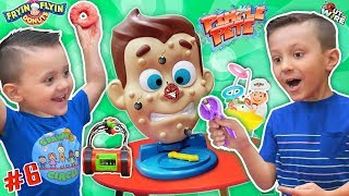 Video Shawns Circle: Pimple Pete's Dynamite Frying Flying Doh-Nuts 3 Games Challenge (#6) | DOH MUCH FUN MP3, 3GP, MP4, WEBM, AVI, FLV September 2019