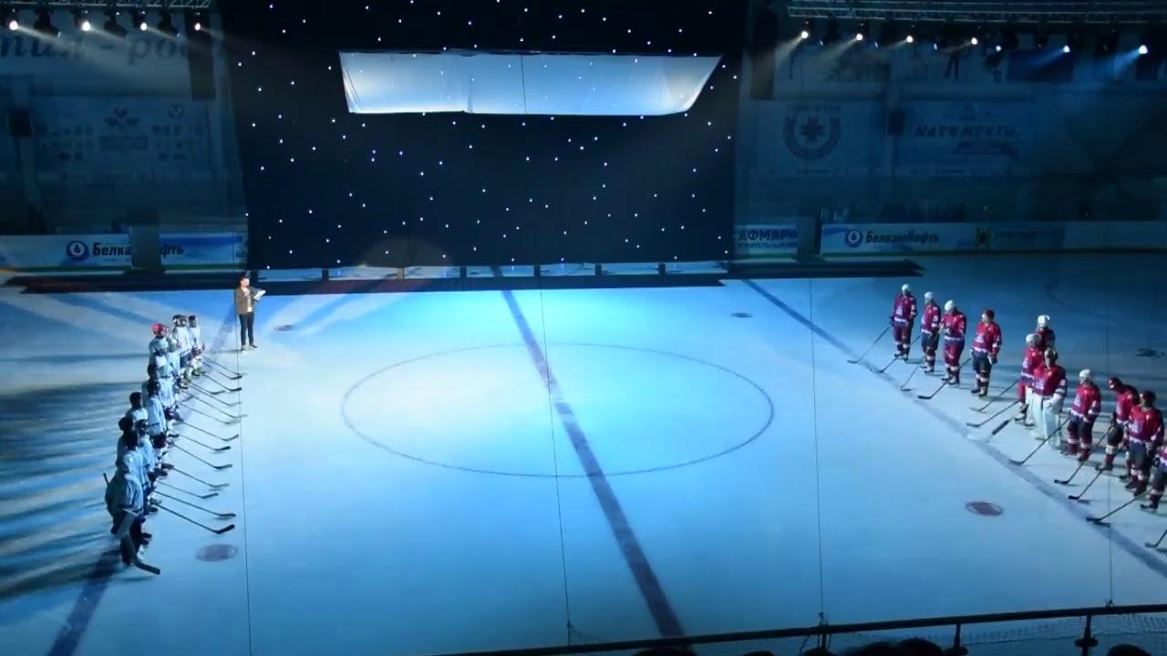 Прямая трансляция открытия второго сезона хоккейного турнира среди детских дворовых команд