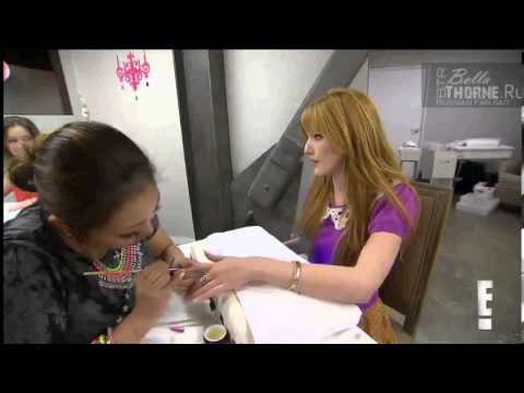Bella Thorne in the beauty salon (Bellathorne.Ru)