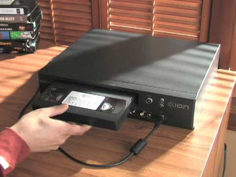 ION VHS to PC Converter Player
