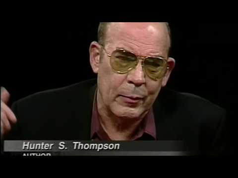 Hunter S. Thompson interview (1998)