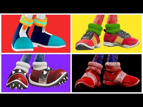 Sonic The Hedgehog Movie Choose Your Favorite Shoes