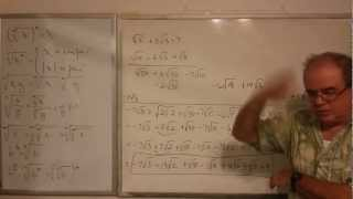 Algebra Intrmedia - Lección 8 - A (multiplicación Y Exponenciación De Multinomios Con Radicales)