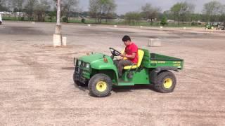 10. JOHN DEERE 4X2 GATOR FOR SALE 1800 HOURS