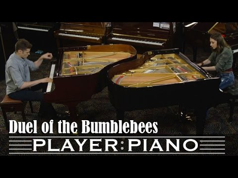 due pianisti entrano in un negozio: guardate la loro sfida!