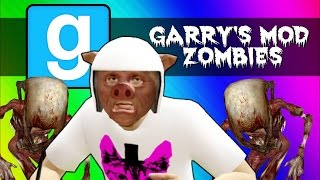 Gmod Zombies - Escaping the Apocalypse! (Garry's Mod Sandbox Funny Moments & Skits)