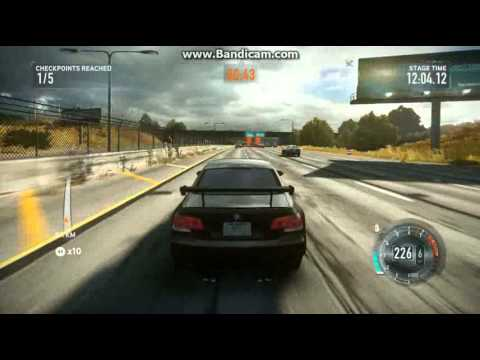 Need For Speed The Run GT635M i7 3630QM 2.4ghz PC Gameplay