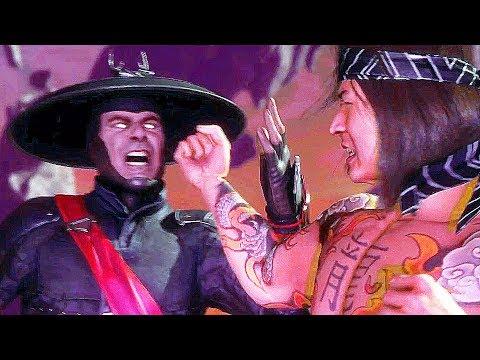 Mortal Kombat 11 Raiden Vs. Liu Kang All Fight Cutscenes (MK11) - Thời lượng: 16 phút.