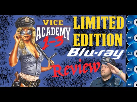 Vinegar Syndrome's Limited Edition release of Vice Academy 1-3 review