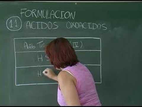 Vídeos Educativos.,Vídeos:Ácidos Oxácidos