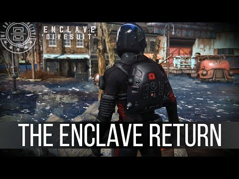 The Enclave Are Coming Back - Upcoming Mods 164 (видео)