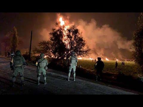 Mexiko: Dutzende Menschen sterben grausigen Feuertod
