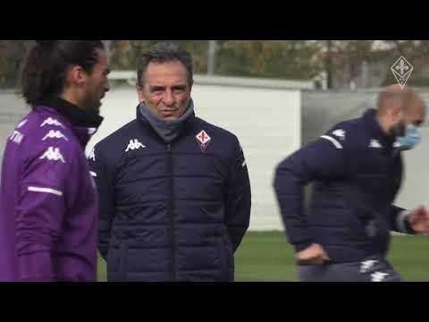 Verso Milan-Fiorentina : allenamento