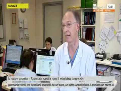 Il prof. Gianluca Polvani a Rainews24 Telemedicina   9/11/15