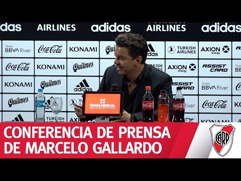 Conferencia de prensa de Marcelo Gallardo - 29/2/2020