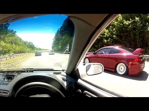 POV Honda-Fest Meet In Integra Type R & EG6 EVO RSX FULL MEET