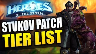 Tier list for the Stukov patch in hero league in Heroes of the Storm! The best heroes for ranked play in 2017 Season 2 ^_^ Tier list ...