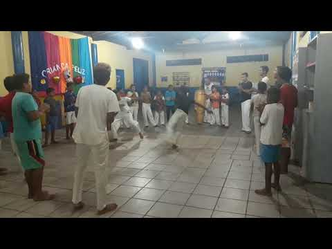 Capoeira Raízes do Brasil em coelho neto-ma