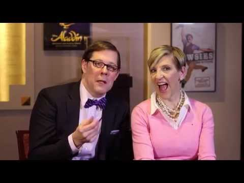 broadway - Disney Theatrical Productions holds a press event to preview some of the songs from the upcoming Broadway musical version of Frozen. Footage from upfront hel...