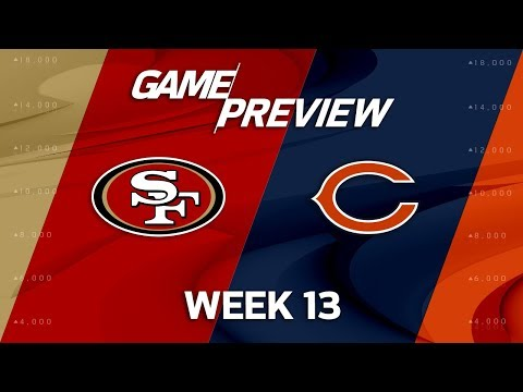 Video: San Francisco 49ers vs. Chicago Bears | NFL Week 13 Game Preview | NFL Playbook