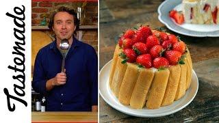 Frankie & Julia (Julia Child's Strawberry Malakoff) l The Tastemakers-Frankie Celenza by Tastemade