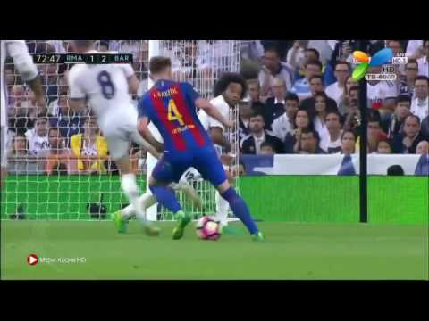 Barcelona vs Real madrid 3-2 Arabic commentary (23-04-2017) El clasico
