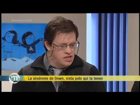 Watch video Síndrome de Down a ''Els Matins'' de TV3