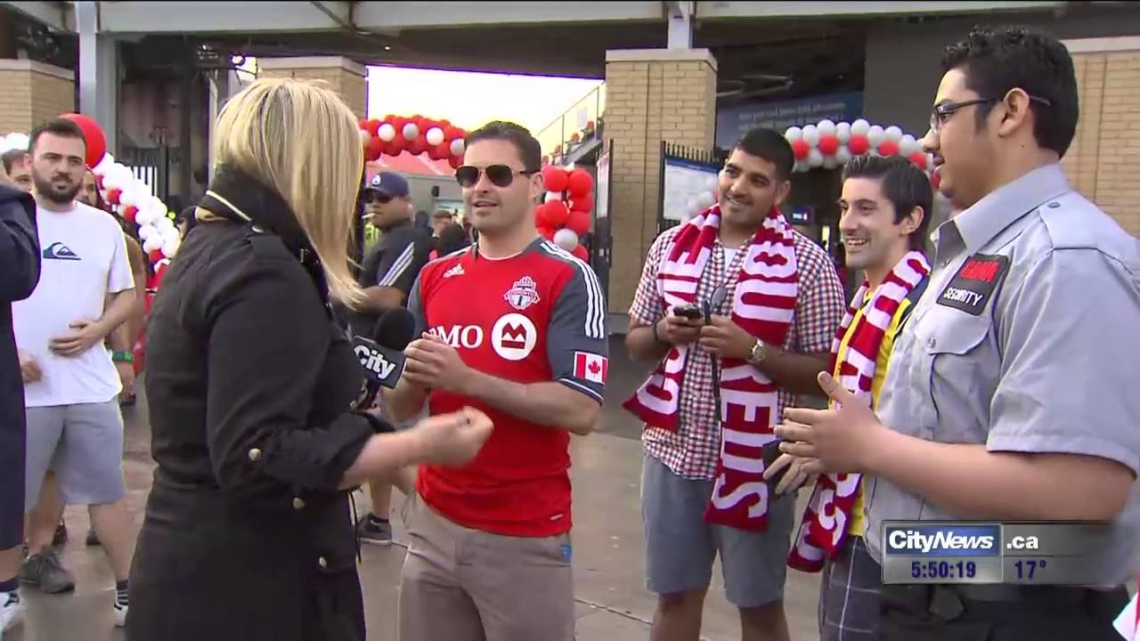 CityTV News reporter calls out group of men live on air