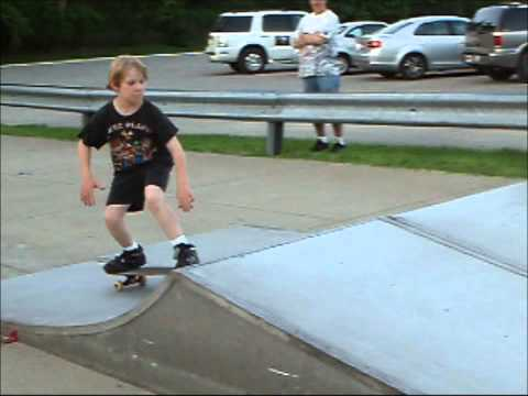 Luke's Day at Bedford Skatepark (HD)