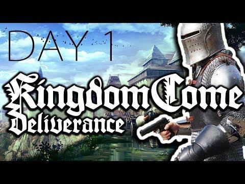 НУ ТЫ И ЧЕРНЬ | Kingdom Come Deliverance ● День 1 - [16 февр. 2018]