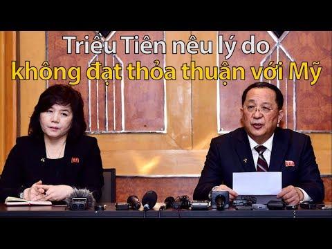 Triều Tiên họp báo lúc nửa đêm nói chỉ đề nghị Mỹ dỡ bỏ một phần lệnh cấm vận @ vcloz.com