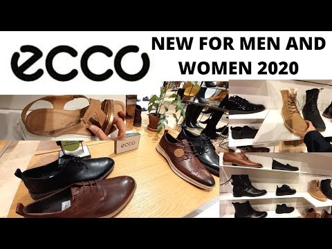 ECCO NEW SHOES COLLECTIONS FOR MEN AND WOMEN  JANUARY 2020