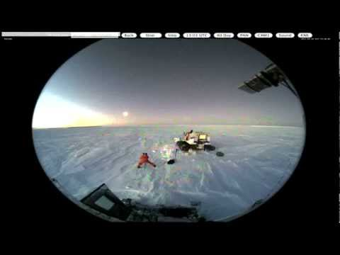 NIBIRU 05.30.12 BEING PHOTOGRAPHED BY SCIENTIST AT SOUTH POLE