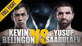 Video ONE: Full Fight | Kevin Belingon vs. Yusup Saadulaev | A Spectacular Knockout | October 2012 MP3, 3GP, MP4, WEBM, AVI, FLV Maret 2019