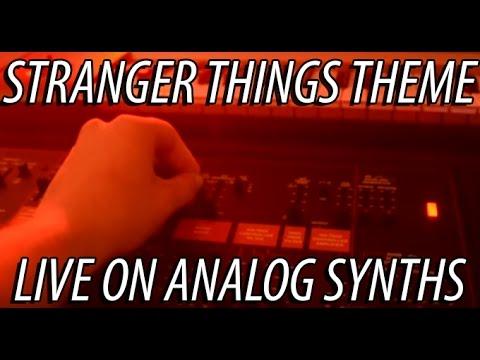 Stranger Things Theme Song - Live on Hardware Synths - Arp Odyssey, Korg Volcas, Electribe, KingKorg
