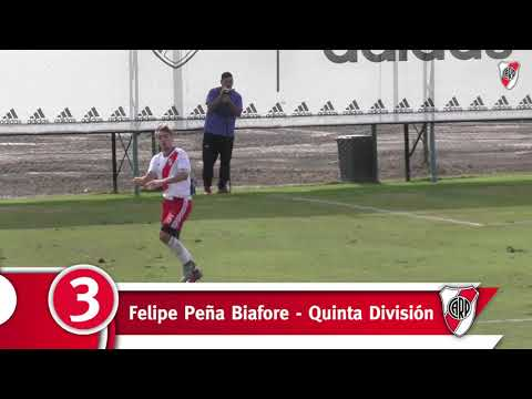 Inferiores vs. Boca - Primera parte