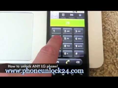 HOW TO UNLOCK LG CELL PHONE ALL NETWORKS ROGERS BELL T-MOBILE AT&T TELUS