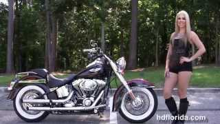 8. Used 2014 Harley Davidson Softail Deluxe Motorcycles for sale