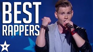 Video TOP 5 BEST RAPPERS on Got Talent From Across The World! | Got Talent Global MP3, 3GP, MP4, WEBM, AVI, FLV Juni 2018