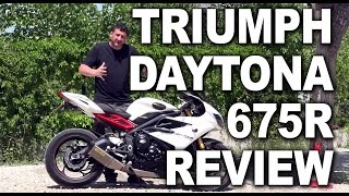 6. Triumph Daytona 675R Review