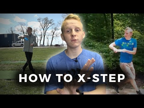 How to go from a standstill to an x-step! (видео)