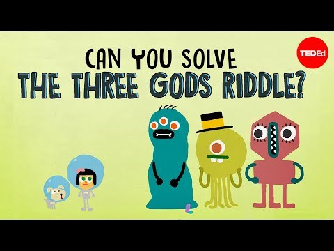 How to Solve the The Three Gods Riddle  Which Has Been Described Hardest Logic Puzzle
