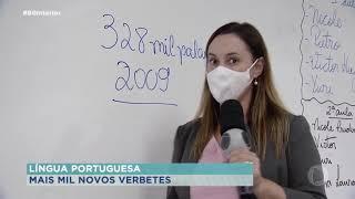 Mil novas palavras no vocabulário ortográfico da língua portuguesa
