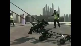 Dummy of the week, Human slingshot | slip and slide | stunt goes viral.