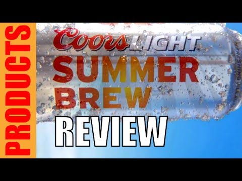 Coors Light Summer Brew Review (Adam & Tom Show)