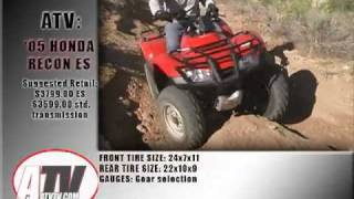 5. ATV Television Test - 2005 Honda Recon