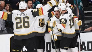 Jonathan Marchessault ties game in last minute during hectic 3rd period of Game 7 by NHL