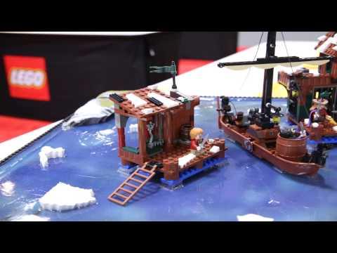 Vidéo LEGO Le Hobbit 79013 : La poursuite de Lacville
